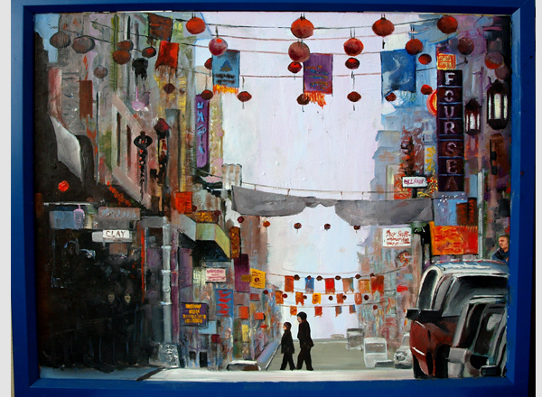 San Francisco Chinatown Fine Art by Robert W. Moore